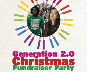 Generation 2.0 X-mas Fundraiser Party!