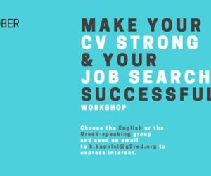 Make your CV Strong & your Job Search Successful Workshop | October 27, 2016