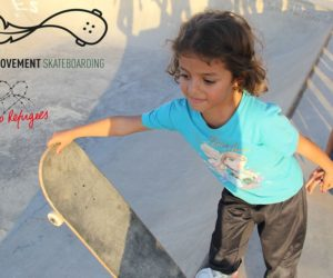 Refugees skate their way from the camps to the center of Athens!