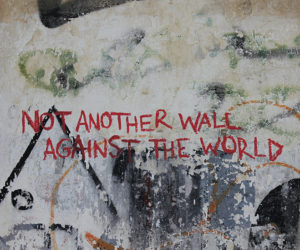 Not Another Wall Against the World | A special mural in the streets of Athens