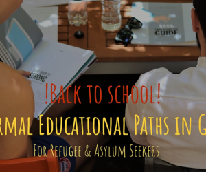 Back to school | Formal Educational Paths in Greece | Workshop