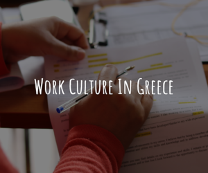 Workplace culture in Greece | Εργαστήριο