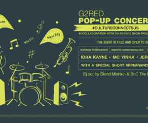 G2RED Pop-Up Concert