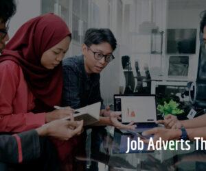 Job Adverts Thursday 5/8/2021