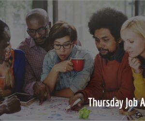 Thursday Job Adverts 16/09/2021